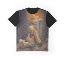 Lonely Little VooDoo Doll Graphic T-Shirt