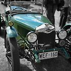 Riley 9 Brooklands 1929 by Geoffrey Higges