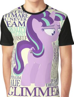 The Many Words of Starlight Glimmer Graphic T-Shirt