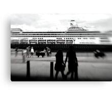 bon voyage . . . Canvas Print