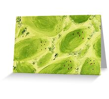 Impression Mangos Greeting Card
