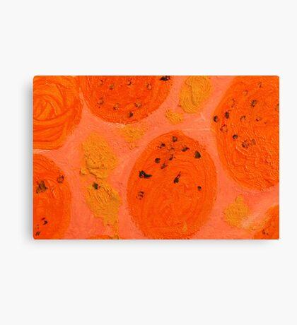 Impression Oranges Canvas Print