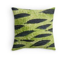 Impression Water Reed Minnows Throw Pillow