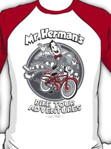 Mr. Herman's Bike Tour Adventures T-Shirt