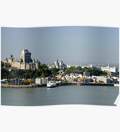 The Old City of Quebec Poster