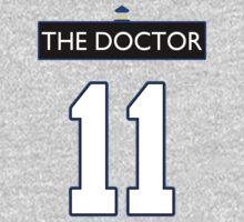 Team Smith (The Doctor Jersey #11, Version TaRDiS) One Piece - Long Sleeve