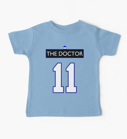 Team Smith (The Doctor Jersey #11, Version TaRDiS) Baby Tee