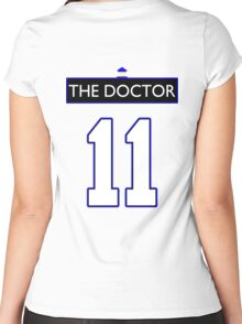 Team Smith (The Doctor Jersey #11, Version TaRDiS) Women's Fitted Scoop T-Shirt