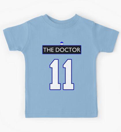 Team Smith (The Doctor Jersey #11, Version TaRDiS) Kids Tee