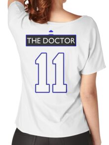 Team Smith (The Doctor Jersey #11, Version TaRDiS) Women's Relaxed Fit T-Shirt