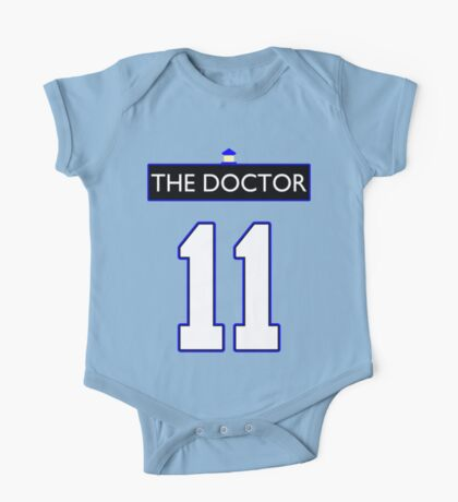 Team Smith (The Doctor Jersey #11, Version TaRDiS) One Piece - Short Sleeve