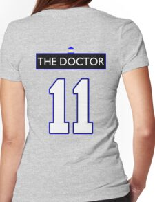 Team Smith (The Doctor Jersey #11, Version TaRDiS) Womens Fitted T-Shirt