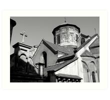 the armenian cathedral Art Print