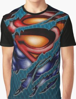 clark torn tee tshirt pencils color art Graphic T-Shirt