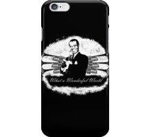 Louis Armstrong - What a Wonderful World iPhone Case/Skin