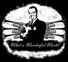 Louis Armstrong - What a Wonderful World by theJemmer