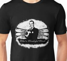 Louis Armstrong - What a Wonderful World Unisex T-Shirt