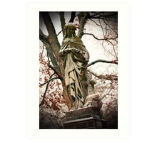 Old Gray Cemetery-1864 Art Print