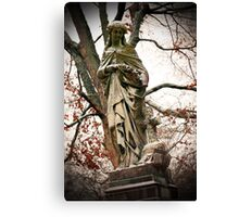 Old Gray Cemetery-1864 Canvas Print