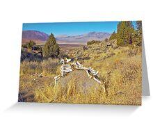 Bone Art Greeting Card