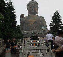 Tian Tian Buddha by grampsman