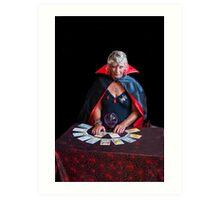 Tarot Card Lady Art Print