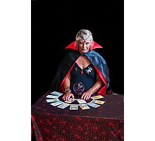 Tarot Card Lady Photographic Print