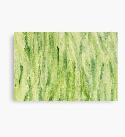 Impression Seaweed Metal Print