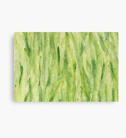 Impression Seaweed Canvas Print