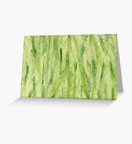 Impression Seaweed Greeting Card