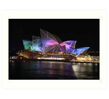 Vivid Sydney 2011 Art Print