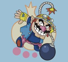 WarioWare - Wario! One Piece - Short Sleeve