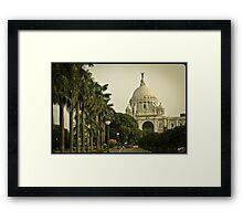 Victoria Memorial, Kolkata Framed Print