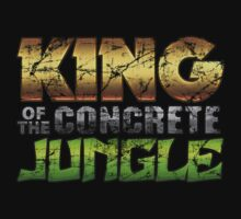 """King Of The Concrete Jungle"" Kids Clothes"