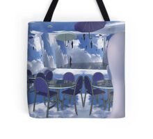 Dining with Magritte after death  Tote Bag