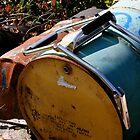 Old, Empty Barrels by Nigel Cummings