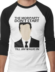 MoriPARTY Men's Baseball ¾ T-Shirt