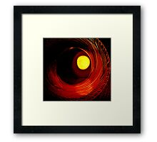 Indian Pottery - Earth, Air, Fire Framed Print