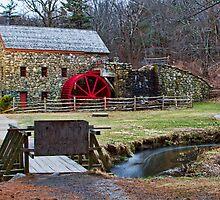 Longfellow's Wayside Inn Grist Mill by Katherine Murray