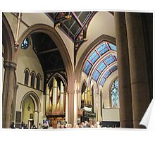 St. Paul's Episcopal Cathedral - Interior Poster