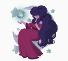 Lady of the Night Sky Baby Tee