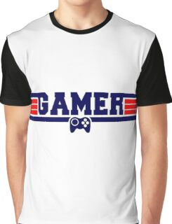 Top Gamer Graphic T-Shirt