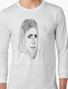 The End of Her World.. Kind of Long Sleeve T-Shirt