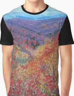 Autumn Valley Graphic T-Shirt