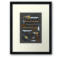 Horrible Weapons Framed Print
