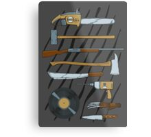 Horrible Weapons Metal Print