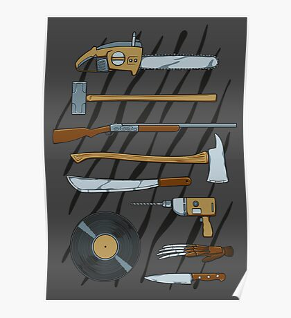 Horrible Weapons Poster