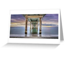 Under Brighton Jetty - South Australia Greeting Card