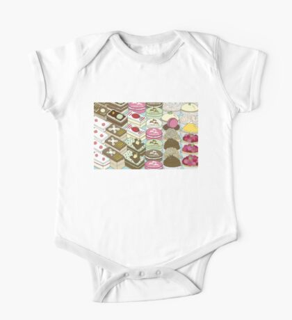 Cakes Cakes Cakes One Piece - Short Sleeve