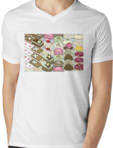 Cakes Cakes Cakes Mens V-Neck T-Shirt